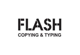 FLASH COPYING & TYPING